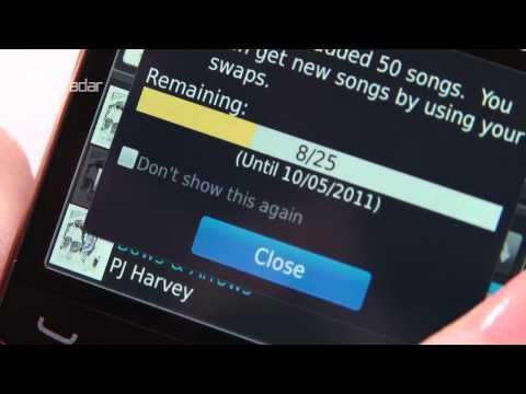 BBM Music Hands-on Demo Video
