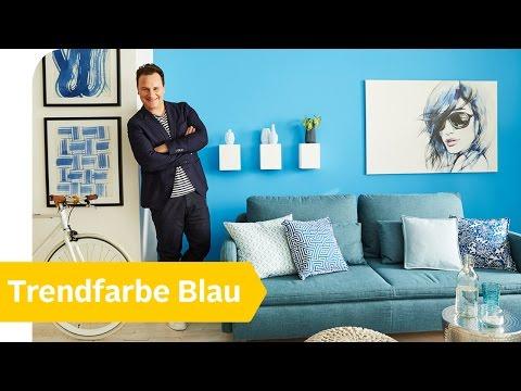 Mehr BLAU in eurer Wohnung: TIPPS von Guido Maria Kretschmer | Roombeez – powered by OTTO