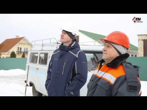 АТН Харьков: В селе Русские Тишки завершается реконструкция электросетей - 15.02.2019
