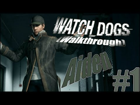 Watch Dogs Walkthrough Part 1 Aden PS4 Gameplay lets play