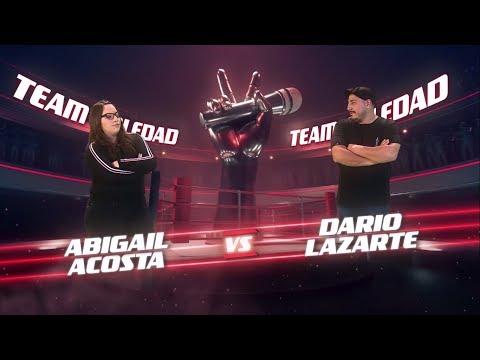 ¡Ricardo, Mau y Ricky Montaner preparan a Abigail y Darío para la batalla! - La Voz Argentina 2018