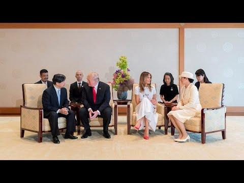 ترامب أول رئيس أجنبي يلتقي امبراطور اليابان الجديد وسط توتر تجاري مع طوكيو …  - نشر قبل 3 ساعة