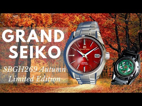 Grand Seiko SBGH269 Autumn Limited Edition Introduction | Carat & Co.