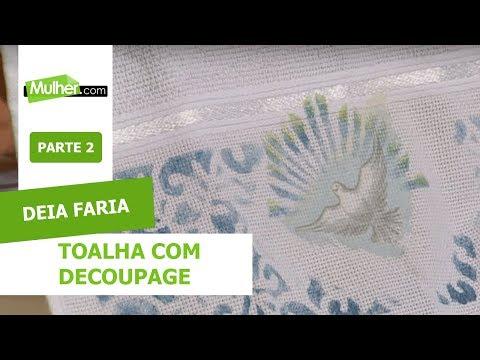 Toalha com Decoupage - Deia Faria - 12/08/2019 P2