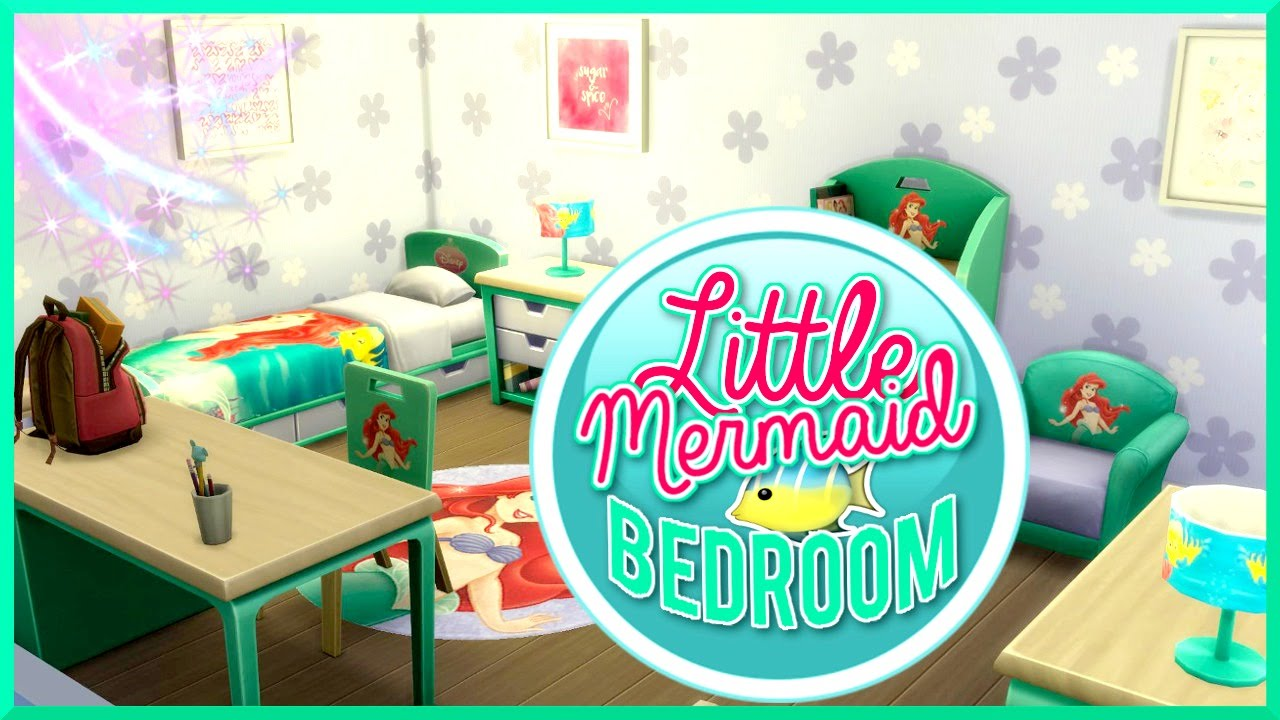 The Sims 4 | Little Mermaid Bedroom