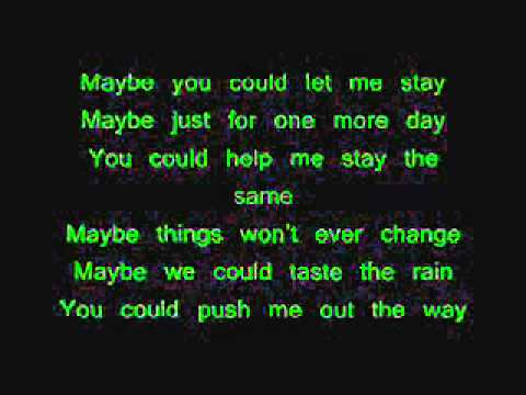 Puddle Of Mudd Away From Me Lyrics