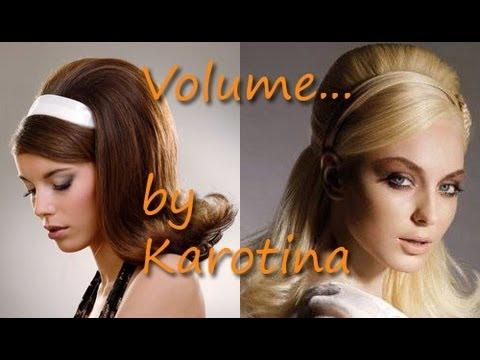 finest selection 2f107 8b576 Più Volume ai capelli (stile anni 60) by Karotina