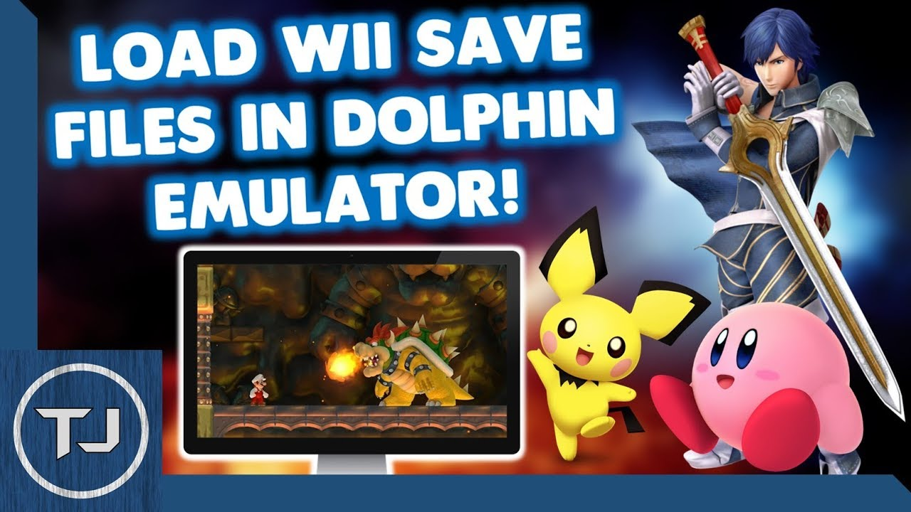 How To Load Wii Save Data In Dolphin Emulator!