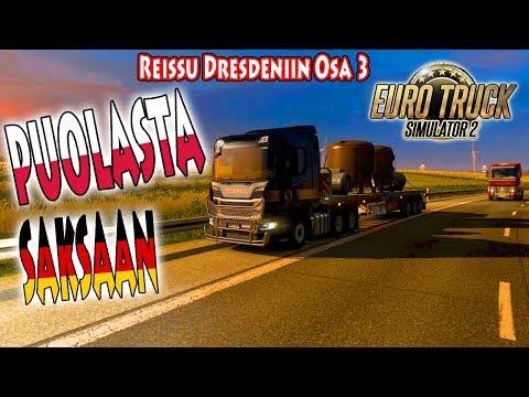 Euro Truck Simulator 2 - Reissu Dresdeniin osa 3 - Puolasta Saksaan