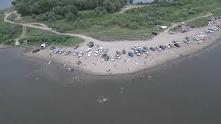 Пляж Тополиная роща - Астрахань