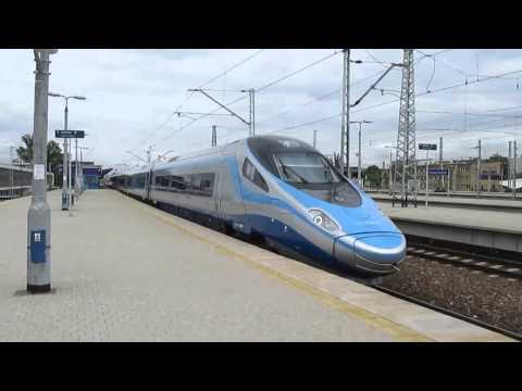 Express InterCity Premium 1308 relacji Warszawa Wschodnia - Kraków Główny...