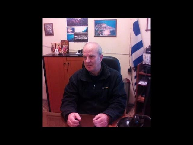 Κίμωνας Χρυσίδης πρόεδρος του Δικτύου Κοινοτήτων Λέσβου & πρόεδρος της κοινότητας Περάματος