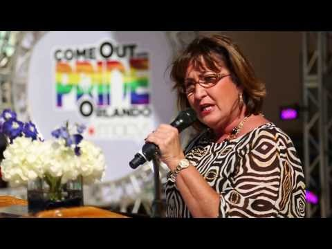 Come Out With Pride Orlando 2013 - Mayor Teresa Jacobs & City Commisioner Patty Sheehan