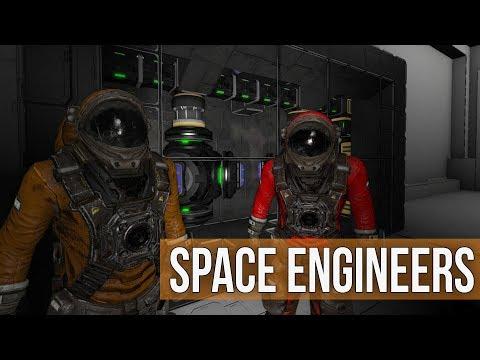 Space Engineers - Deep Asteroid Exploration  (Modded Survival Coop) Ep 25