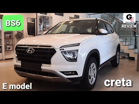 2020 Hyundai Creta 2020 Creta E Diesel Base Model Review Price Features Specs Youtube
