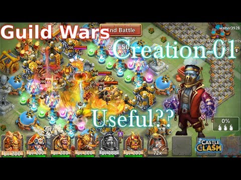 Uncut GW Creation-01 Test Out Useful? Castle Clash