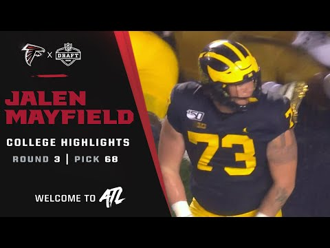Watch Jalen Mayfield college highlights | 2021 NFL Draft