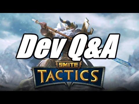 [SMITE Tactics] Dev Q&A - CB4