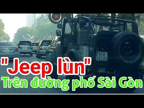 JEEP LÙN TRÊN ĐƯỜNG PHỐ SÀI GÒN | Gia đình Việt | 123 Huy Cường TV