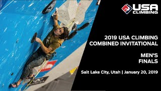 2019 USA Climbing: Combined Invitational | Men's Finals