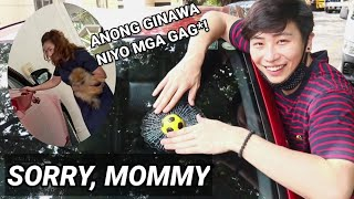 NABASAG KO KOTSE NI MOMMY PRANK! (WATCH TILL THE END)