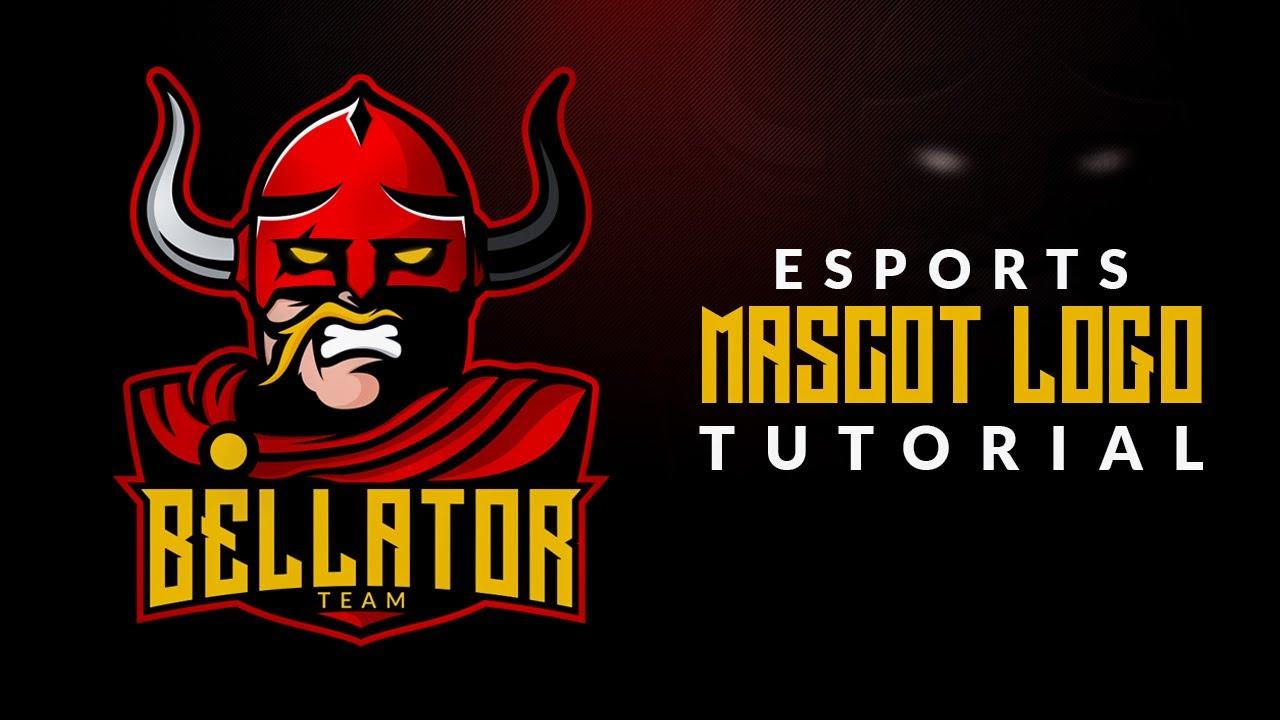 Bellator ESports Mascot Logo | Tutorial in CorelDraw