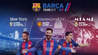 Fc barcelona head back to the usa in summer of 2017