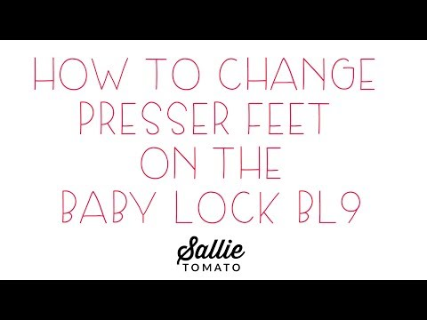 Baby Lock BL9 Accessory Feet