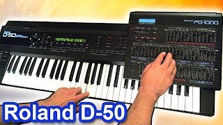 ROLAND D-50 - Ambient Chillout Arpeggiator Music【SYNTH DEMO】