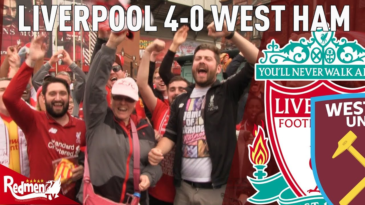 Download Liverpool 4-0 West Ham | Free For All Fan Cam