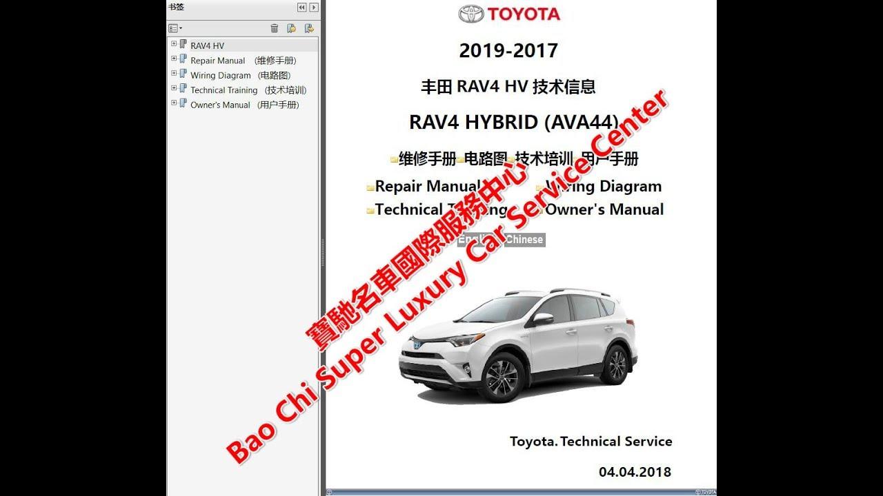 Rav4 service manuals | 2004 Toyota RAV4 Service And Repair