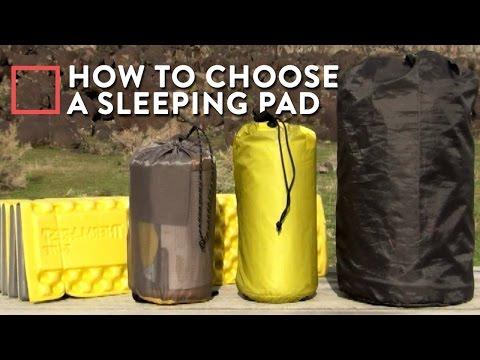 How To Choose A Sleeping Pad