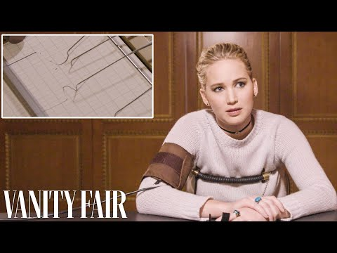 Jennifer Lawrence Takes a Lie Detector Test  Vanity Fair