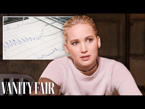 Jennifer Lawrence Takes a Lie Detector Test | Vanity Fair