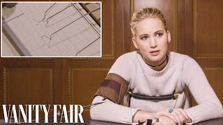 Jennifer Lawrence Takes a Lie Detector Test | Vanity Fair YouTube Videos