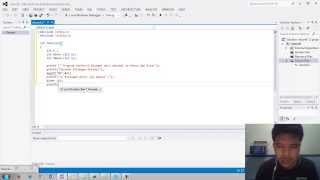 Membuat Program Sederhana Konversi Bilangan Desimal ke  Biner menggunakan fungsi rekursif
