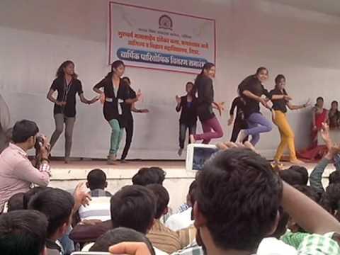 Girls group dancing nasik