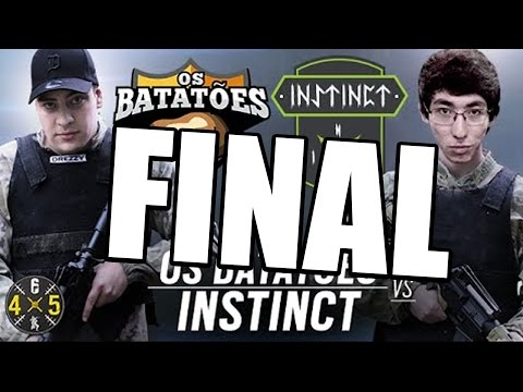 RAINBOW SIX SIEGE - Os Batatões VS  Instinct Team COMPLETO - GRANDE FINAL #Six4X5