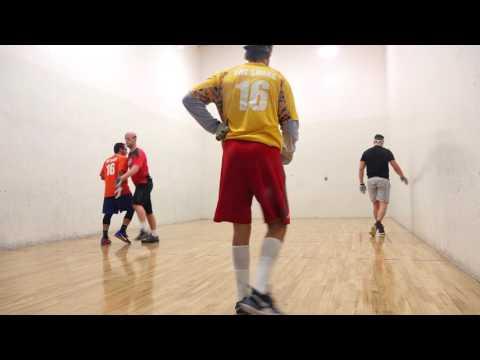 Former NFL Star Plays Handball - Jake Plummer Makes Finals!!!