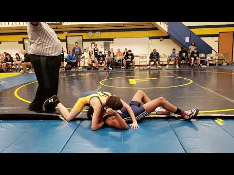 Robert Frost Junior High School vs Addams 2019 .....  Aidan win his match !