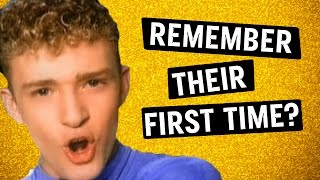 Best & Worst Boyband's First Music Videos (Throwback)
