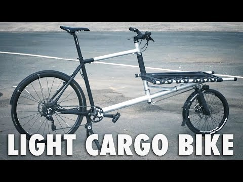 Building a Light Cargo Bike