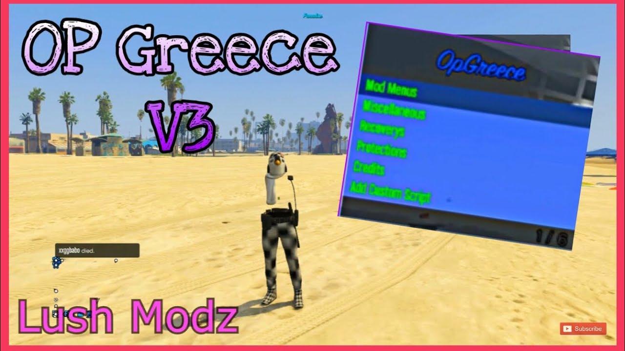 [PS3/GTAV] Mod Loader FOR HEN and CFW OpGreece V3 DiamondModZHD Showcase +  DOWNLOAD by Lush Modz ツ