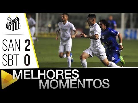 Santos 2 x 0 São Bento | MELHORES MOMENTOS | Paulistão (16/04/16)