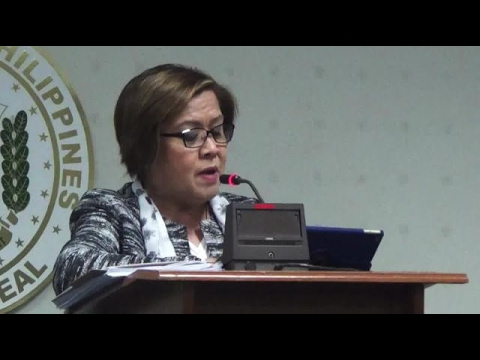 De Lima holds press conference assailing Duterte admin (FULL VIDEO)