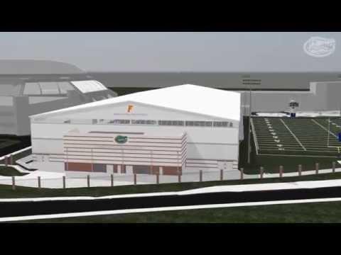 Florida Football: Indoor Practice Facility Fly-Through