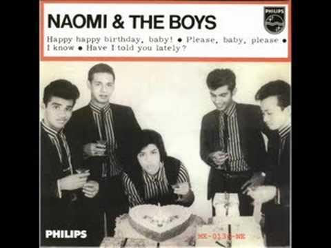 Naomi & The Boys (Singapore) - Happy Happy Birthday, Baby [*Audio*]