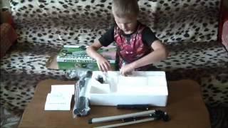 видео детский телескоп