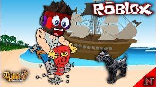 ROBLOX indonesia #138 Treasure Hunt Simulator | Upgrade JackHammer Lagi dan Beli Robot Anjing