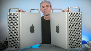 2019 Mac Pro - Double Unboxing , Good for creatives? First look.